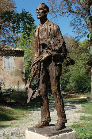 Bronze sculpture Vincent van Gogh