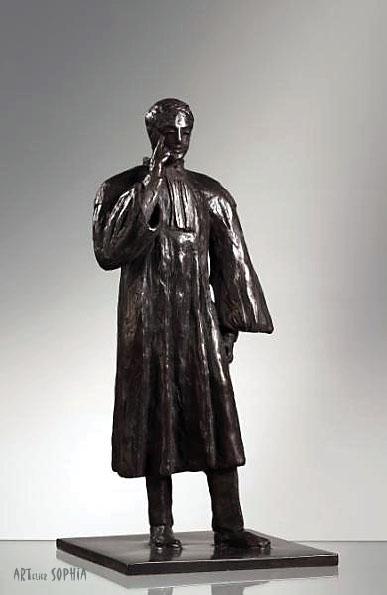 Bronze sculpture Lawyer