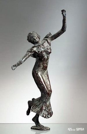 bronze sculpture Grace 1 Aglaïa
