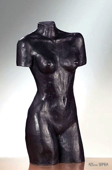 Bronze sculpture Female Torso
