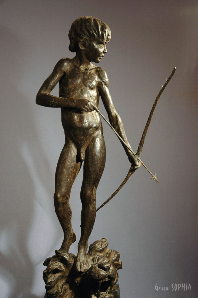 Bronze sculpture Eros