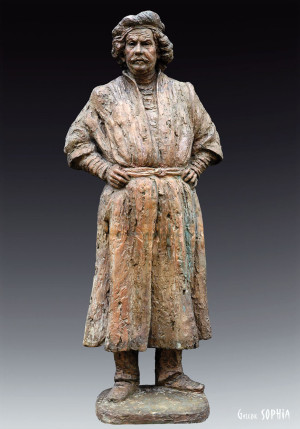 Bronze sculpture Rembrandt