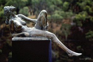 Bronze sculpture Spring
