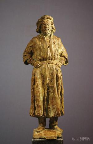 Bronze sculpture Rembrandt, study