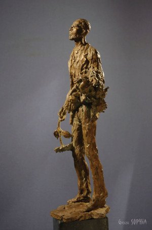 Bronze sculpture Vincent van Gogh, study