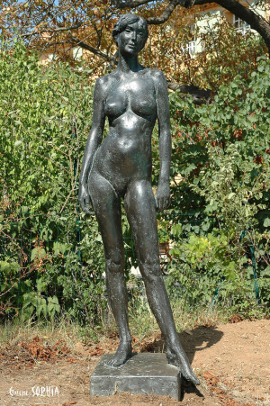 Bronze sculpture Summer