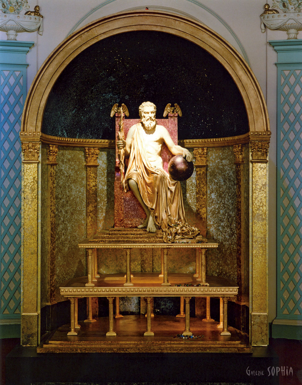 The 7 Wonders of the World – The Statue of Zeus at Olympia