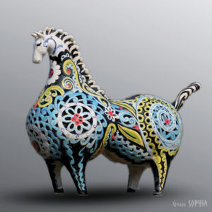 Artwork Persian Horse