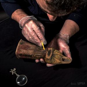 Ceramics (?) restoration